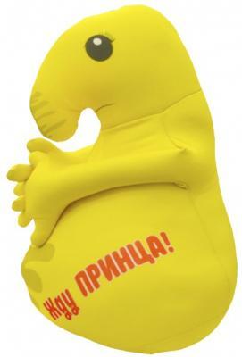 Антистрессовая игрушка Оранжевый кот Хочун желтый полиэстер  602166