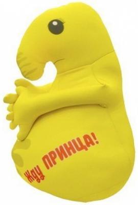 Мягкая игрушка Оранжевый кот Хочун 25 см желтый текстиль  602289