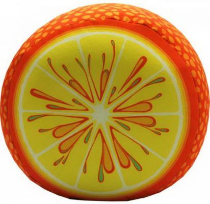 Мягкая игрушка Оранжевый кот Апельсин 30 см оранжевый текстиль  377659