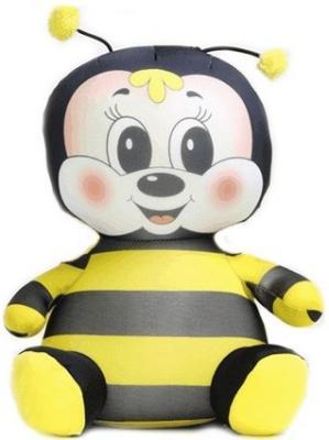 Антистрессовая игрушка пчела СПИ Пчелка Майя полиэстер полистирол желтый черный 29 см