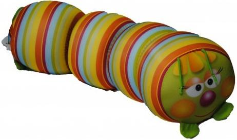 Антистрессовая игрушка-валик СПИ Гусеница антистрессовая игрушка спи жираф жужа полиэстер в ассортименте
