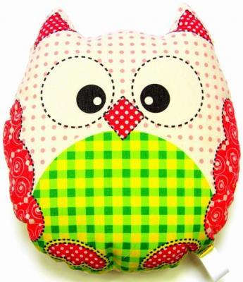 Антистрессовая игрушка-подушка СПИ Совы холст в асс-те 16хип01ив