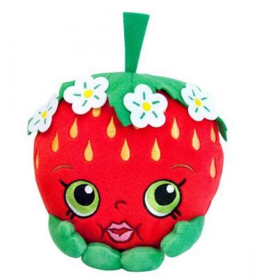 Мягкая игрушка клубника РОСМЭН Клубничка Кисс 20 см красный зеленый текстиль 31636
