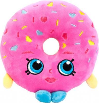 """Мягкая игрушка РОСМЭН """"Шопкинс"""" - Пончик Делиш 20 см розовый текстиль 31632"""