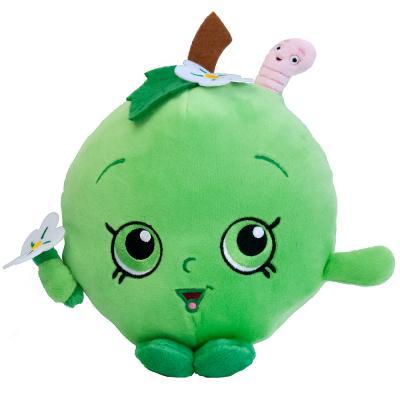 Мягкая игрушка РОСМЭН Шопкинс - Яблочко Фло 20 см зеленый текстиль  31633