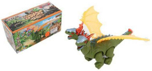 """Интерактивная игрушка Shantou Gepai """"Динозавр"""" от 3 лет зелёный свет, звук, проектор 8771"""