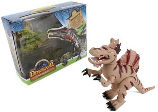 Интерактивная игрушка Shantou Gepai Dinosaur World от 3 лет коричневый 8802