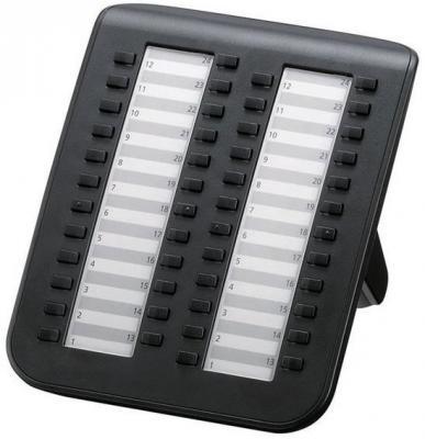 Консоль Panasonic KX-DT590RU-B 48 клавиш атс panasonic kx tem824ru аналоговая 6 внешних и 16 внутренних линий предельная ёмкость 8 внешних и 24 внутренних линий