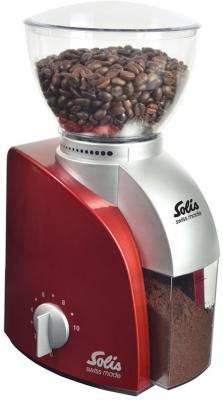 Кофемолка Solis Scala Coffee grinder 100 Вт красный 960-85