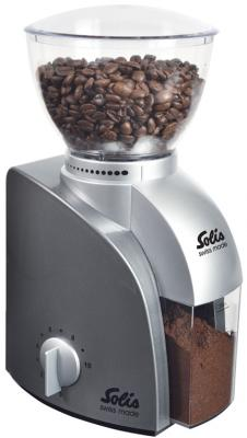 Кофемолка Solis Scala Coffee grinder 100 Вт серебристый