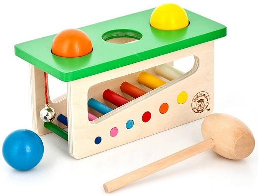 Развивающая игрушка Mapacha Забей шарик 76614 деревянные игрушки mapacha игровой набор mapacha забей шарик