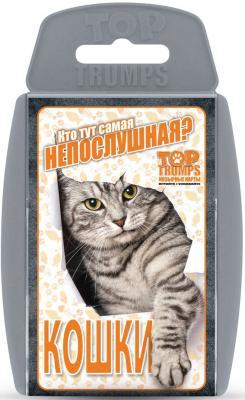 Настольная игра карточная TOP TRUMPS Кошки  38006