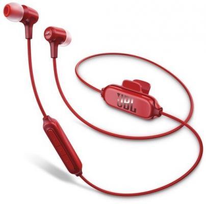 Гарнитура JBL E25BT красный