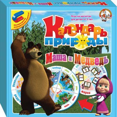 Магнитная доска Десятое Королевство Календарь природы. Маша и Медведь 01435 игра десятое королевство маша и медведь 01616