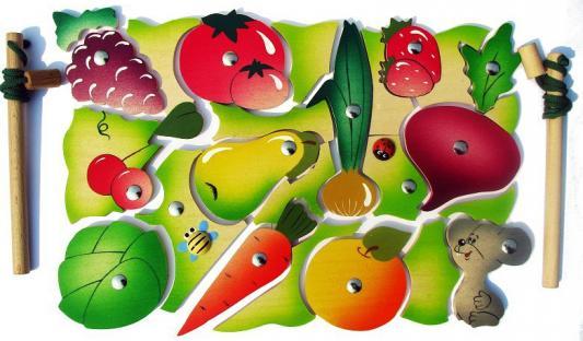 Магнитная игра Крона Во саду ли,  огороде, 26 элементов