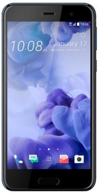 Смартфон HTC U Play синий 5.2 64 Гб NFC LTE Wi-Fi GPS 3G 99HALV063-00 мобильный телефон htc m7 4 7 4g gps wi fi 32 nfc