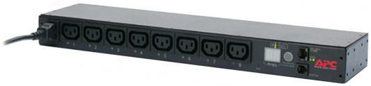 Блок распределения питания APC Rack Switched 1U 16A (8)C13 AP7921B