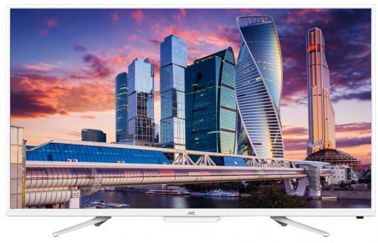 Телевизор JVC LT-32M555W белый телевизор жк jvc lt 32m585w 32 smart tv белый