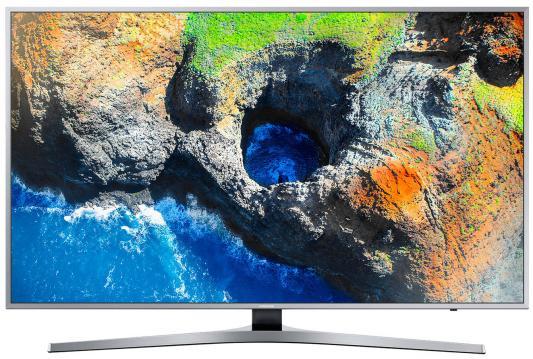 Телевизор Samsung UE55MU6400UXRU серебристый телевизор samsung ue28j4100ak