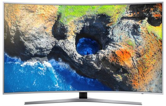 Телевизор Samsung UE55MU6500UXRU серебристый телевизор samsung ue28j4100