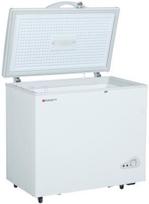 Морозильный ларь Kraft BD(W)-275QX белый морозильный ларь whirlpool whm 3111 белый