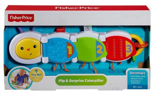 Развивающая игрушка Fisher Price Гусеница с сюрпризом DHW14 от 123.ru