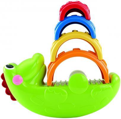Фото Развивающая игрушка Fisher Price Крокодильчик CDC48