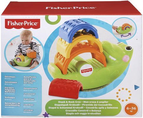 Развивающая игрушка Fisher Price Крокодильчик CDC48 от 123.ru