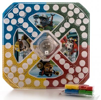 Игровой набор Paw Patrol 2-в-1 - игра с кубиком и фишками + карточки Memory Щенячий Патруль