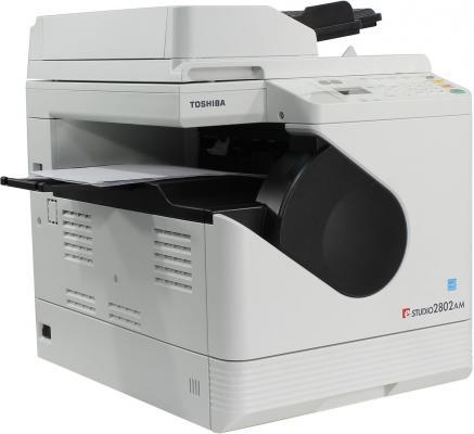 МФУ Toshiba e-STUDIO2802AM ч/б A3 28ppm 2400x600dpi Ethernet USB 1pcs high quanlity opc drum for toshiba e 550 720 850 copier parts e550 e720 e850 photocopy machine