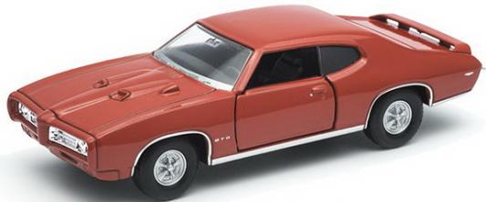 Автомобиль Welly Pontiac GTO 1:34-39 цвет в ассортименте