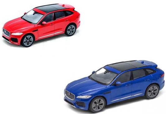 Автомобиль Welly Jaguar F-Pace 1:24 цвет в ассортименте автомобиль jada toys ford coe 1 24 в ассортименте