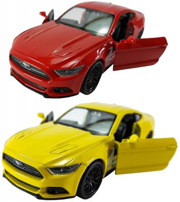 Автомобиль Welly Ford Mustang GT 2015 1:34-39 цвет в ассортименте в ассортименте welly 1 24 ford mustang gt