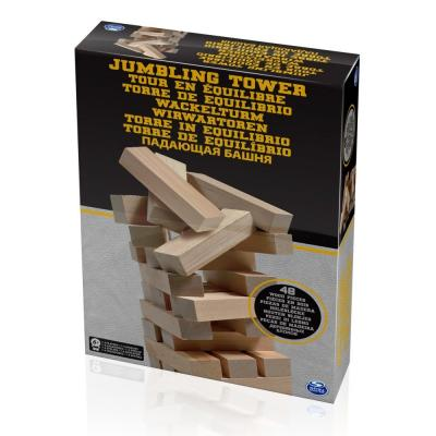 Настольная игра SPIN MASTER спортивная Падающая башня