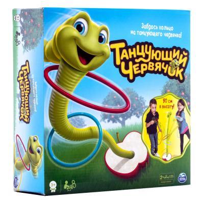 Спортивная игра развивающая SPIN MASTER Танцующий червячок Wobbly Worm 34289 волшебный червячок magic worm пушистик байла