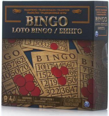 Настольная игра SPIN MASTER лото Лото - Бинго 6038108 настольная игра карты м лото 3004 2