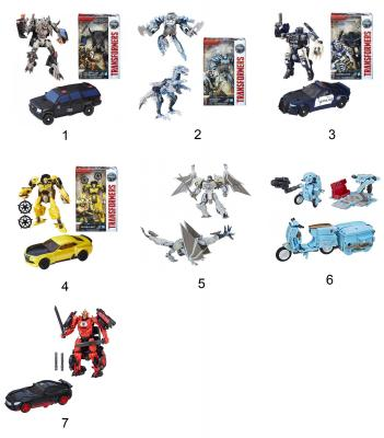 Игрушка Transformers Трансформеры 5: Последний рыцарь - Делюкс ассортимент, C0887 hasbro transformers c0889 c1328 трансформеры 5 последний рыцарь легион гримлок