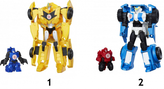 """Игровой набор Transformers """"Трансформеры: Роботы под прикрытием"""" - Гирхэд-Комбайнер 2 предмета ассортимент, C0653"""