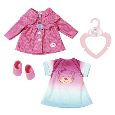 Одежда для кукол Zapf Creation my little BABY born Комплект одежды для прогулки одежда для кукол zapf creation baby born одежда джинсовая