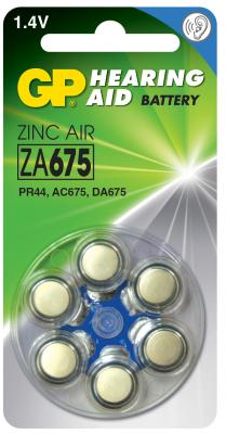 Батарейки GP ZA675-D6 PR44 6 шт 60/300 от 123.ru