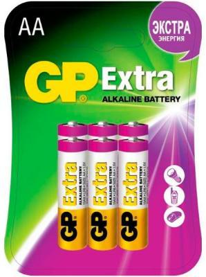 Батарейки GP 15AX-2CR6 Extra 72/720 AA 6 шт