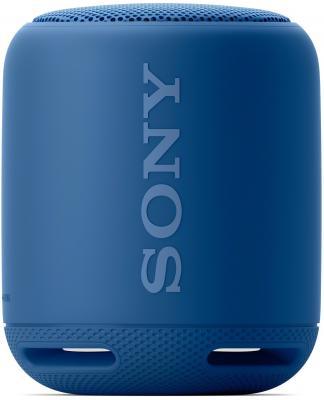 лучшая цена Портативная акустика Sony SRS-XB10 bluetooth голубой