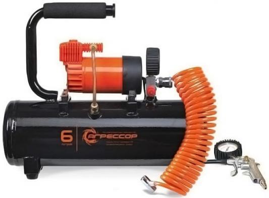 Автомобильный компрессор Агрессор AGR-6LT компрессор автомобильный агрессор agr 35l
