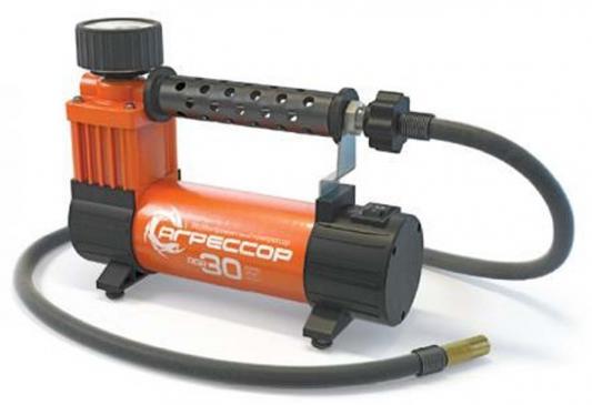 Автомобильный компрессор Агрессор AGR-30 автомобильный компрессор агрессор agr 35l