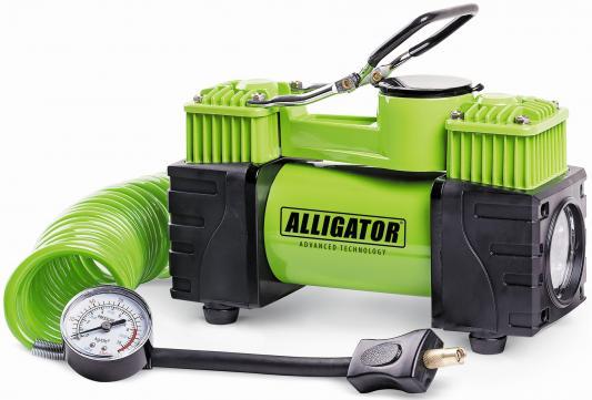 Автомобильный компрессор Аллигатор AL-500 компрессор для шин 12v 14