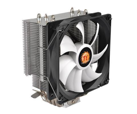 Кулер для процессора Thermaltake Contac Silent 12 CL-P039-AL12BL-A Socket 1366/1156/1155/1151/1150/775/AM4/FM2/FM1/AM3+/AM3/AM2+/AM2 кулер thermaltake contac 16 clp0598 1155 1156 775 fm1 am3 am3 am2 am2 fan 9 cm 2400 rpm