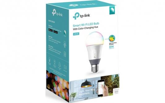 Умная Wi-Fi лампа TP-Link LB130 tp link tl wn851n 300m беспроводная pci карта