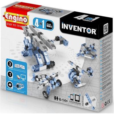 Купить Конструктор ENGINO Самолеты (PB 13, 0433) 55 элементов, Пластмассовые конструкторы