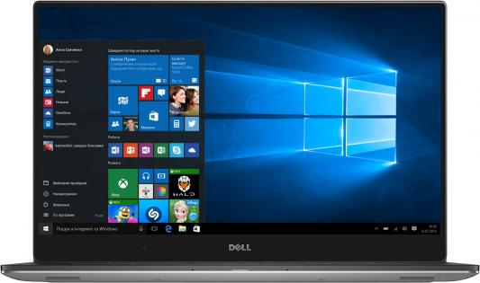 Ультрабук DELL XPS 15 15.6 3840x2160 Intel Core i7-7700HQ 9560-8968 моноблок 27 dell xps 7760 3840 x 2160 multi touch intel core i7 7700 16gb ssd 512 radeon rx 570 8192 мб windows 10 home серебристый черный 7760 2223