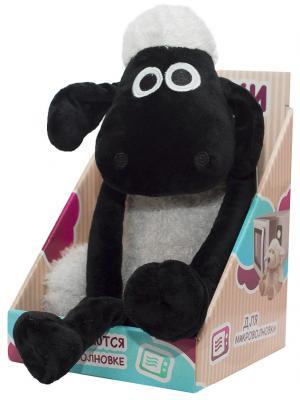 Мягкая игрушка-грелка Warmies Барашек Шон текстиль черный AAR-SS-1 warmies тапочки грелки бежевые 35 40